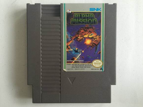 Alpha Mission Cartridge
