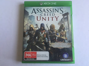 Assassins Creed Unity Pre Owned