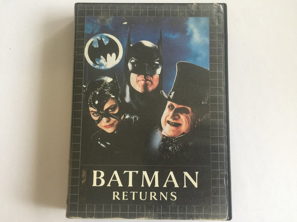 Batman Returns Complete In Original Case