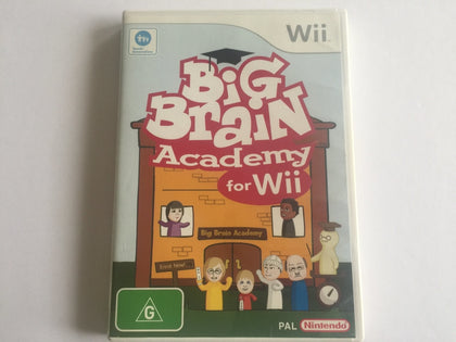 Big Brain Academy For Wii Complete In Original Case