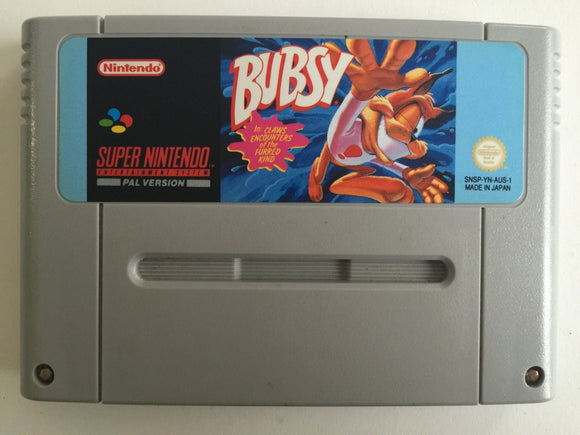 Bubsy Cartridge