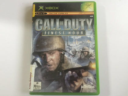 Call Of Duty Finest Hour Complete In Original Case