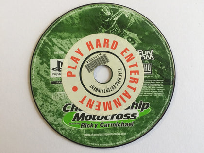 Championship Motorcross Disc Only