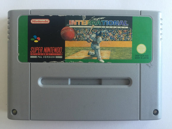 Super International Cricket Cartridge