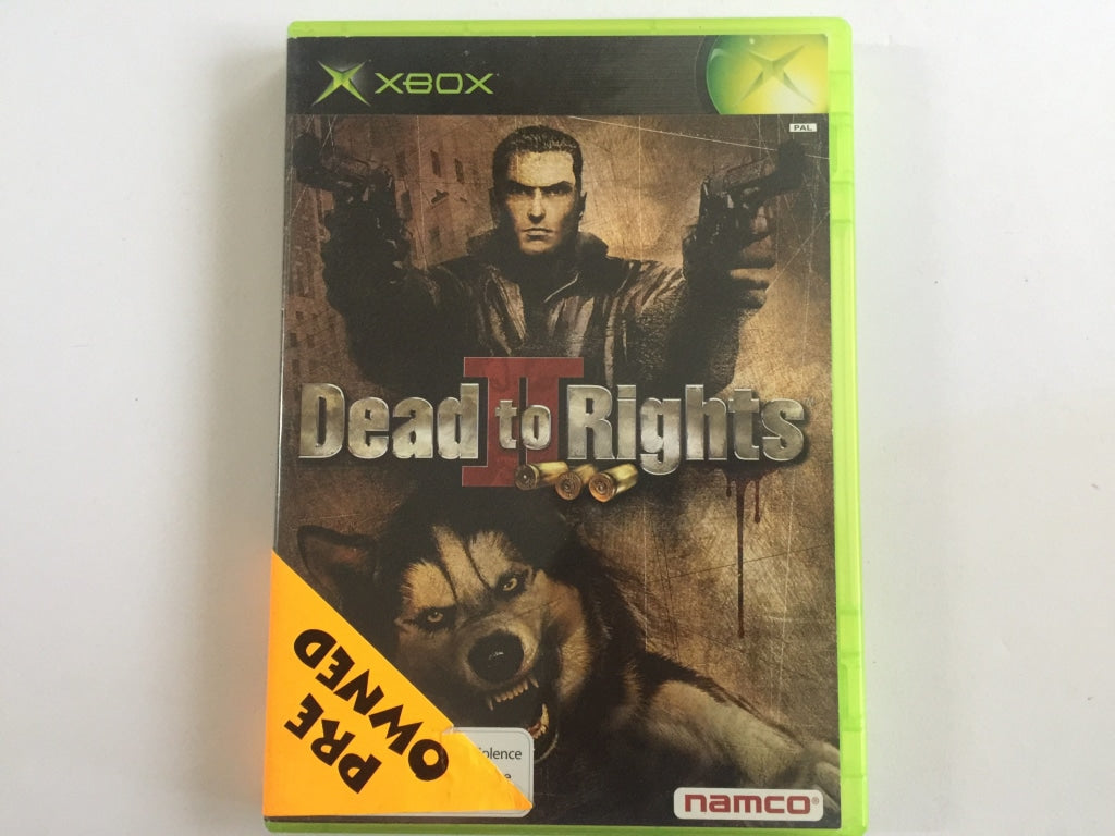 Dead To Rights 2 Complete In Original Case