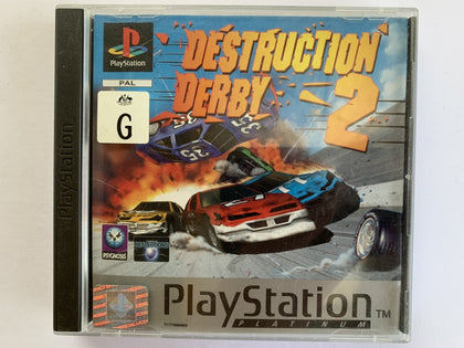 Destruction Derby 2 Complete In Original Case