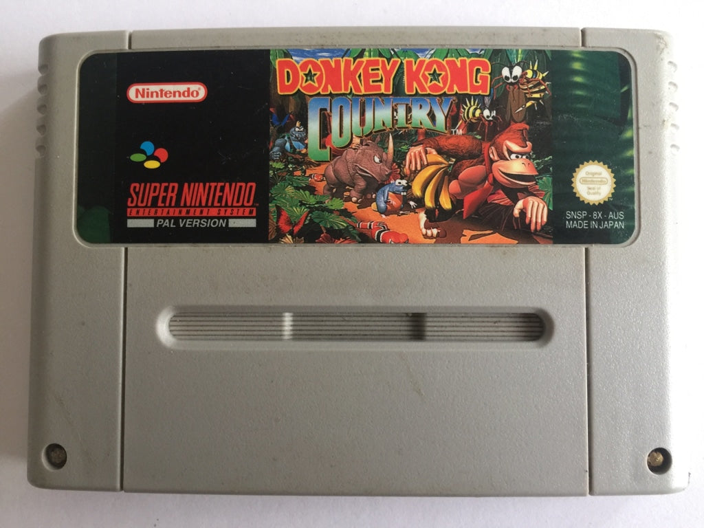 Donkey Kong Country Cartridge