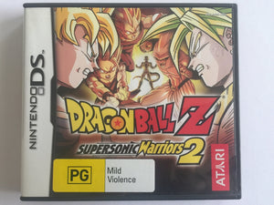 Dragon Ball Z Supersonic Warriors 2 Complete In Original Case