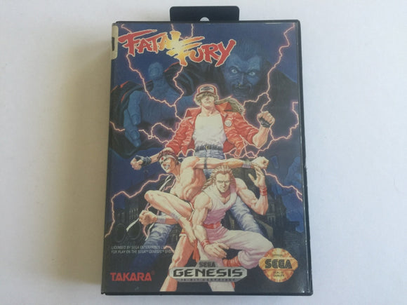 Fatal Fury Complete In Original Case