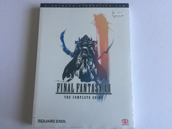 Official Final Fantasy XII Strategy Guide Brand New & Sealed
