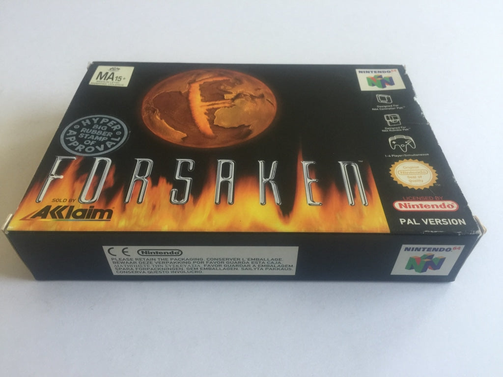 Forsaken Complete In Original Box