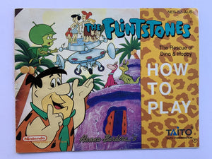 The Flintstones Rescue Of Dino & Happy Game Manual