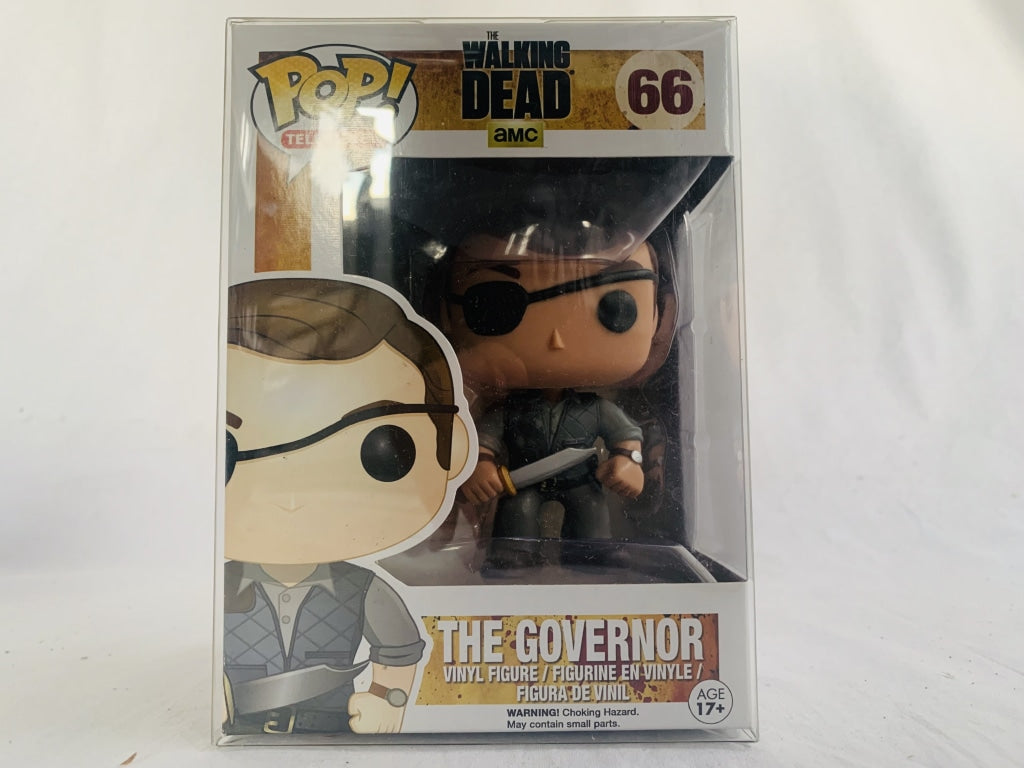The Walking Dead The Governer #66 Funko Pop Vinyl Brand New & Sealed with Free Pop Protector