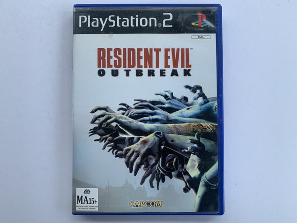 Resident Evil Outbreak Complete In Original Case