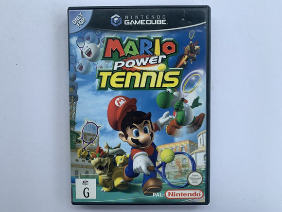 Mario Power Tennis Complete In Original Case