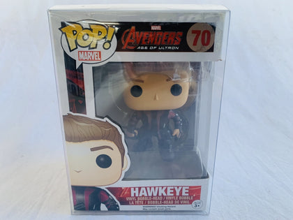 Marvel Avengers Age Of Ultron Hawkeye #70 Funko Pop Vinyl Pre Owned Unopened With Free Protector