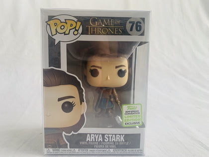 Limited Edition Funko Exclusive 2019 Eccc Game Of Thrones Arya Stark #76 Pop Vinyl Brand New &