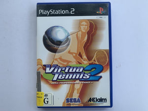 Virtua Tennis 2 Complete In Original Case