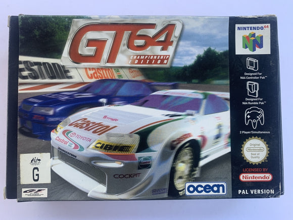 GT 64 Championship Edition Complete In Box