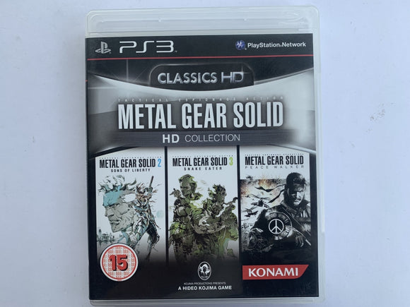 Metal Gear Solid HD Collection Complete In Original Case