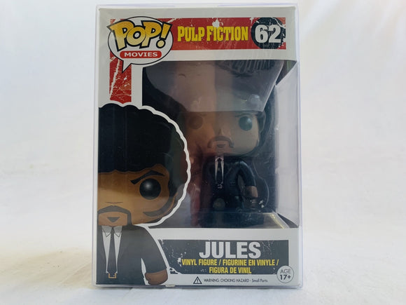 Pulp Fiction Jules Blood Splatter Bloody #62 Funko Pop Vinyl Brand New & Sealed with Free Pop Protector