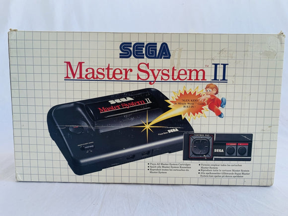 Sega Master System Console 2 with Alex Kidd Built In Complete In Box