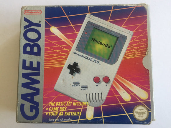 Original Nintendo DMG Gameboy Complete In Box