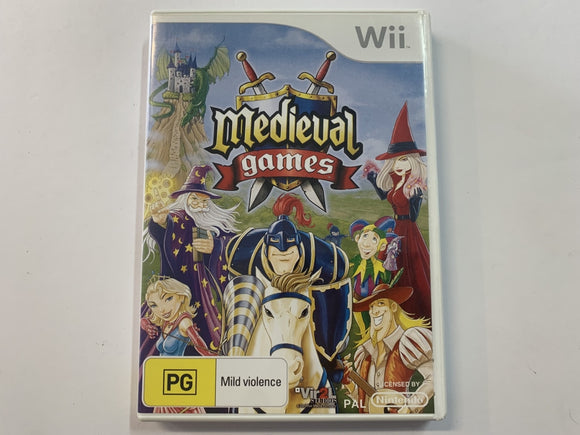 Medieval Games Complete In Original Case