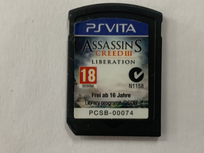 Assassin's Creed 3 Liberation Cartridge