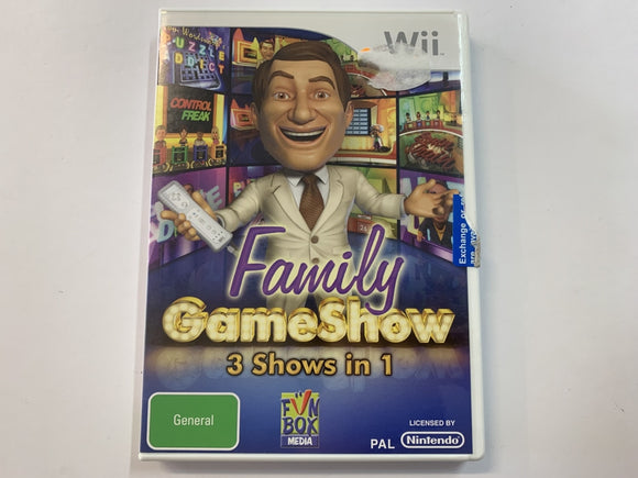 Family Game Show 3in1 Complete In Original Case