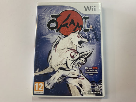 Okami Complete In Original Case