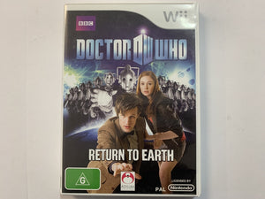 Doctor Who Return To Earth Complete In Original Case
