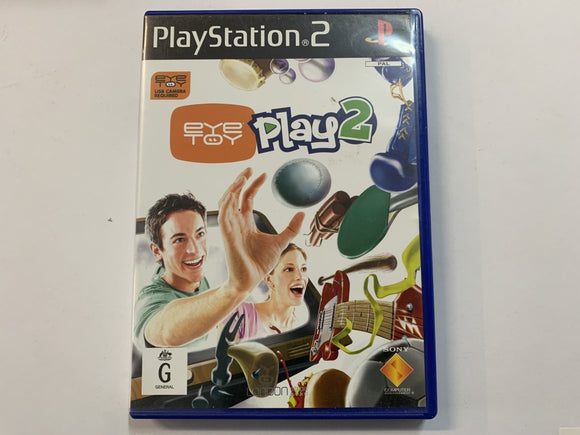 Eye Toy Play 2 Complete In Original Case