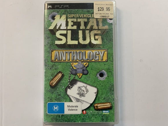 Metal Slug Anthology Complete In Original Case