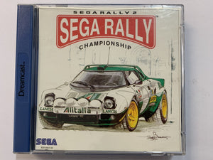 Sega Rally Complete In Original Case