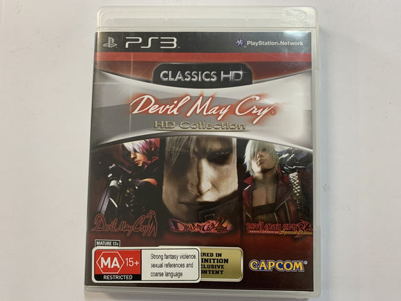 Devil May Cry HD Collection Complete In Original Case