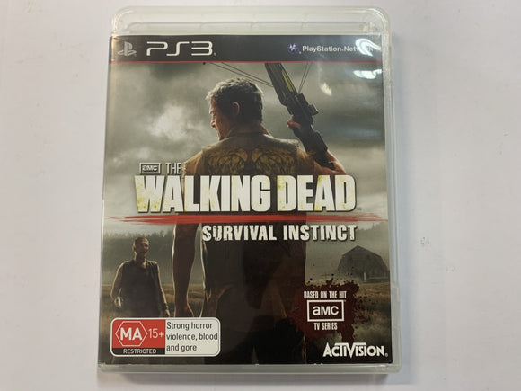 The Walking Dead Survival Instinct Complete In Original Case