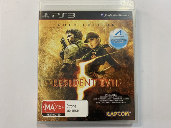 Resident Evil 5 Gold Edition Complete In Original Case