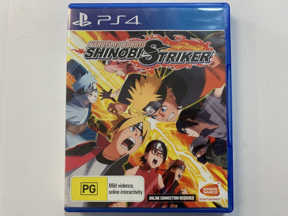 Naruto To Boruto Shinobi Striker Complete In Original Case