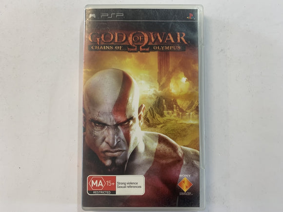 God Of War Chains Of Olympus Complete In Original Case