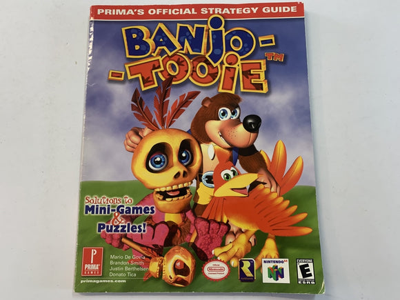 PRIMA Official Banjo Tooie Strategy Guide