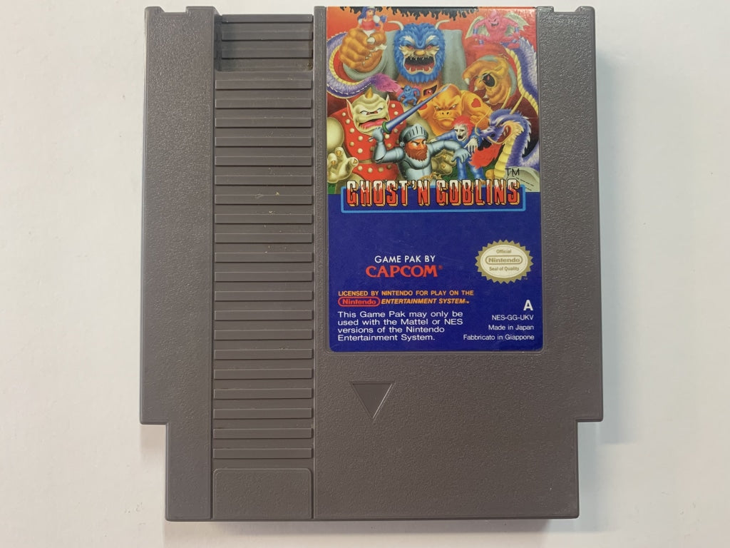 Ghosts 'N' Goblins Cartridge