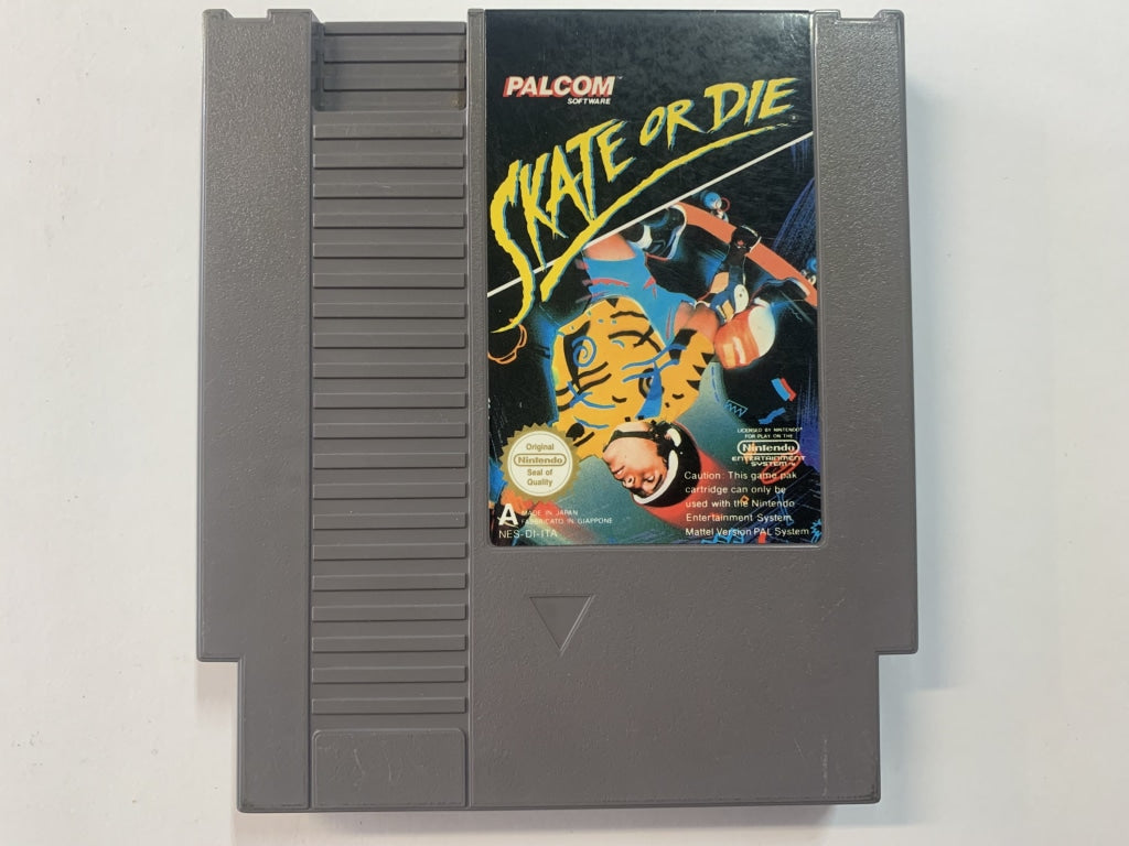 Skate Or Die Cartridge