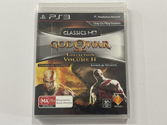 Classics HD God Of War Collection Volume 2 Brand New & Sealed