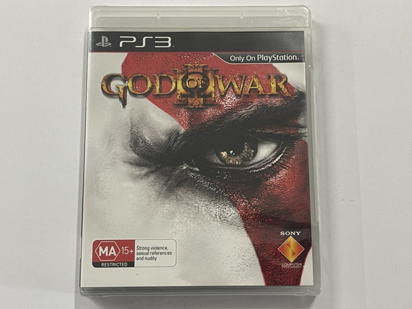 God Of War 3 Brand New & Sealed