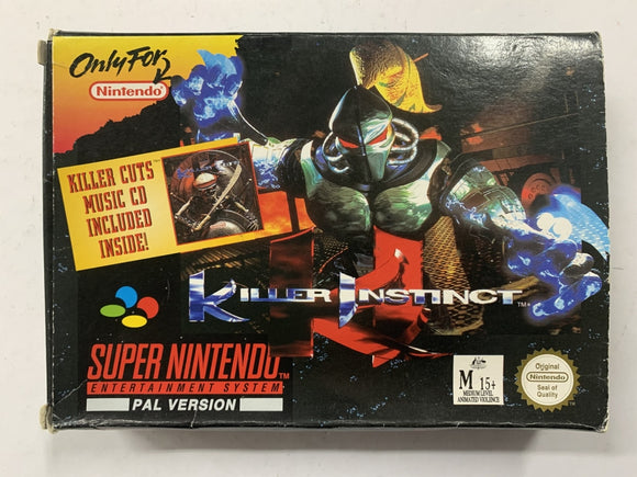Killer Instinct In Original Box