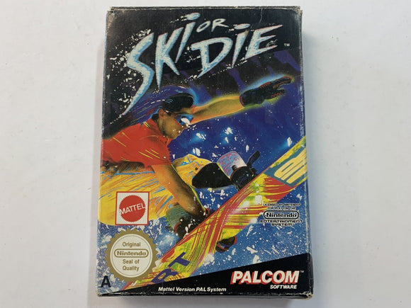 Ski Or Die Complete In Box