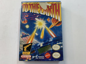 To The Earth Complete In Box