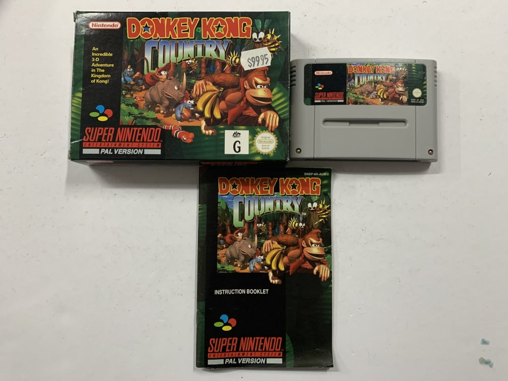 Donkey Kong Country Complete in Box