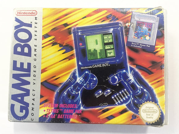 Original Nintendo DMG Gameboy Console Complete In Box